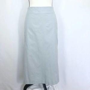 Calvin Klein Collection Pencil Skirt Blue Midi 4